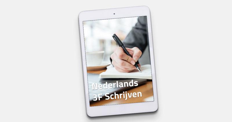 Nascholing-Kinderopvang-Nederlands-3F-Schrijven