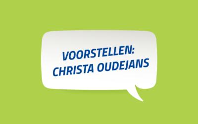 Voorstellen: Docent Christa Oudejans