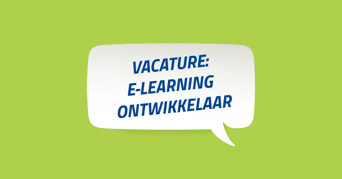 Vacature-E-learning-ontwikkelaar