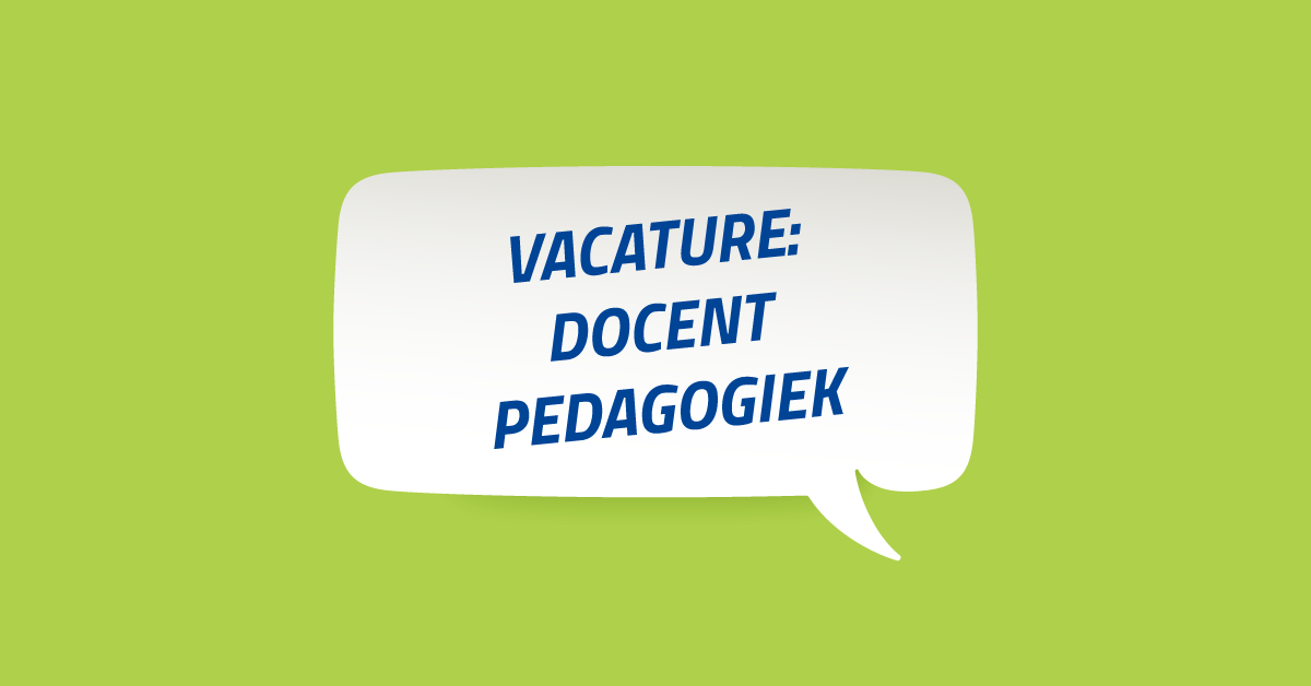Vacature-docent-pedagogiek-amsterdam-den-haag